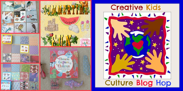 Creative Kids Cultural Blog Hop #41: Chinese Origami