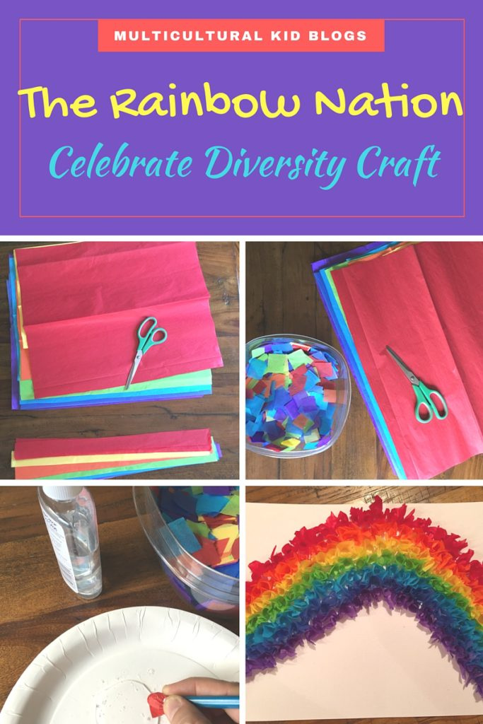 The Rainbow Nation craft | Multicultural Kid Blogs