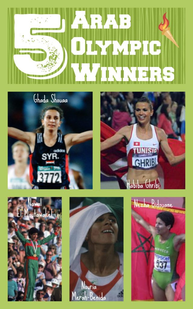5 Arab Olympic Winners