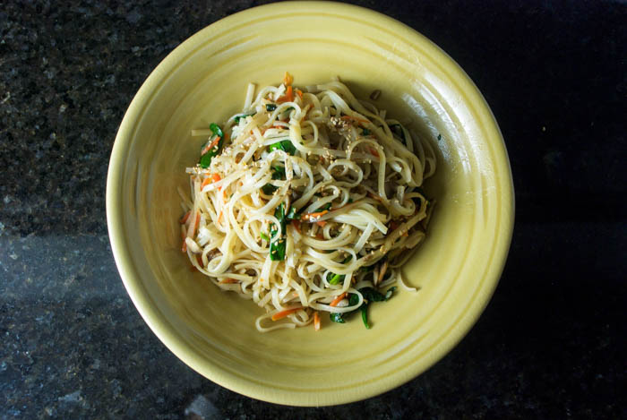 Chinese New Year Long Life Noodles Recipe — Dishmaps
