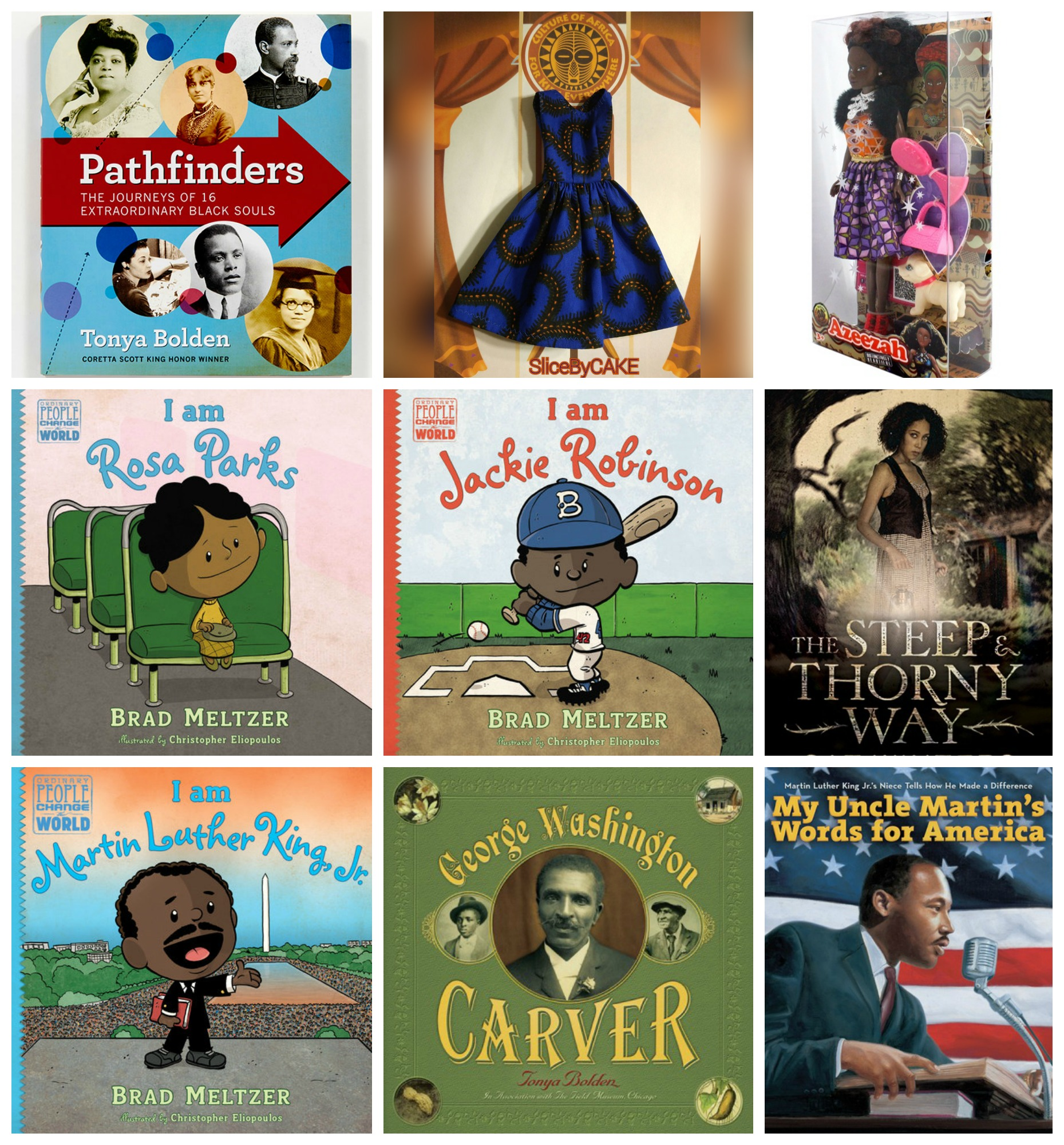 Black History Month Giveaway on Multicultural Kid Blogs - 1st Prize