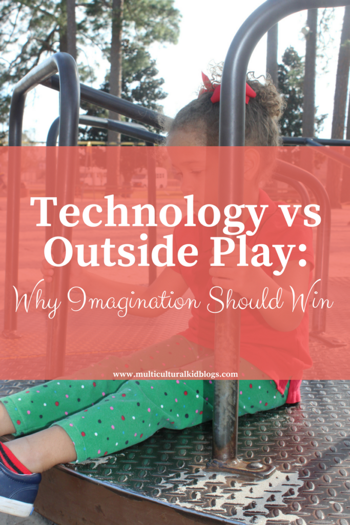 Technology vs Outside Play: Why Imagination Should Win