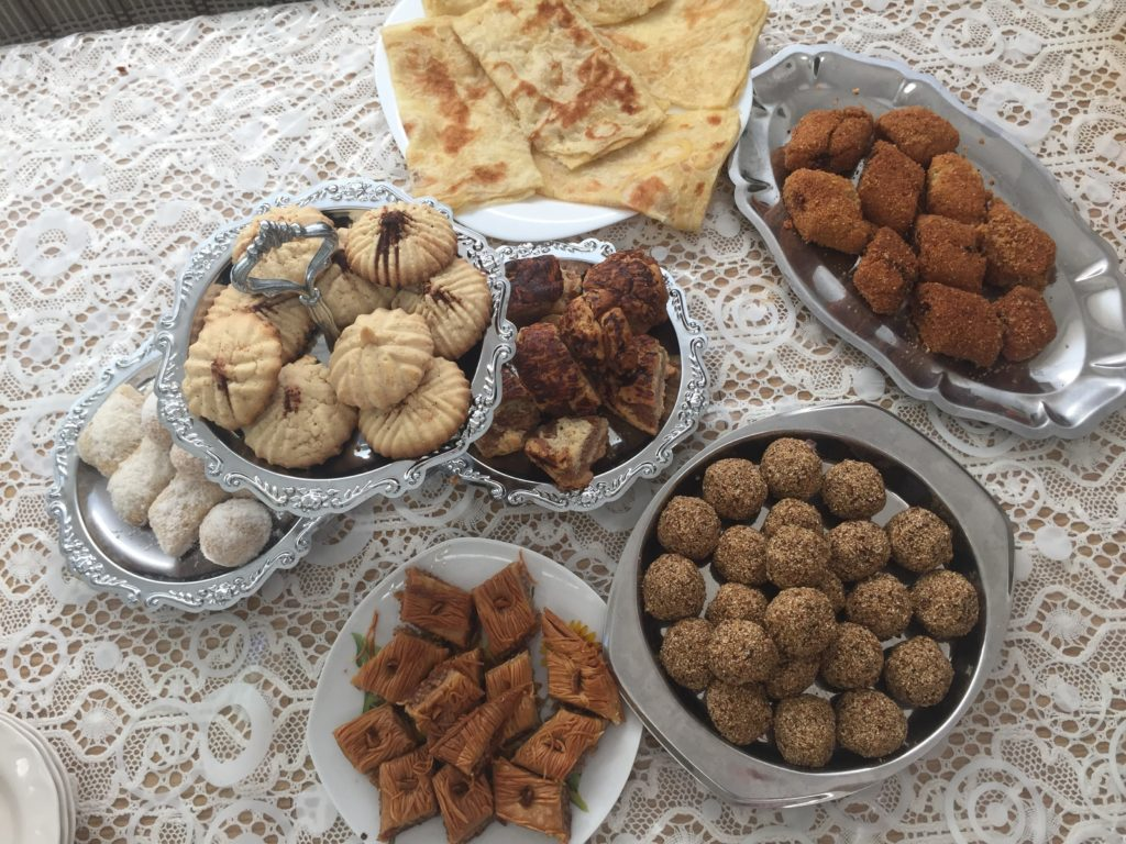 Algerian pastry for Eid