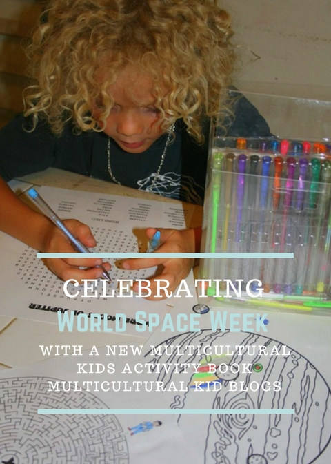 Celebrating World Space Week with a New Multicultural Kid's Activity Book