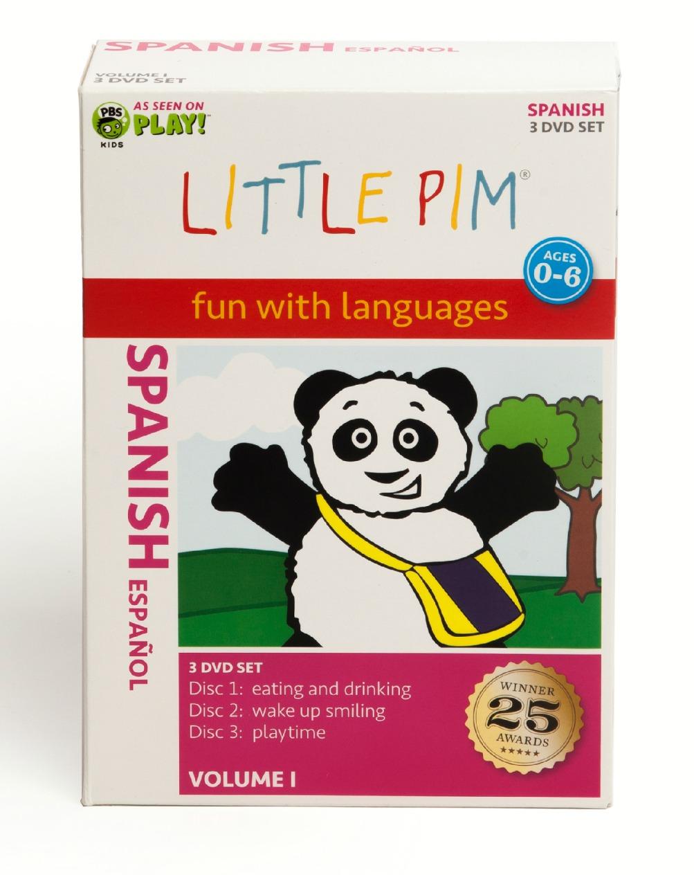 Little Pim Spanish Box Set Vol. I