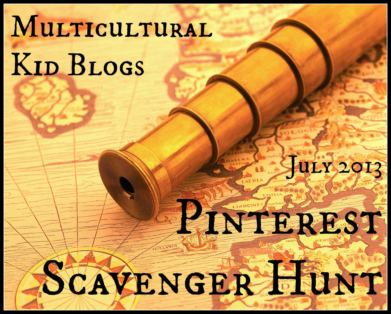 Multicultural Kid Blogs Pinterest Scavenger Hunt
