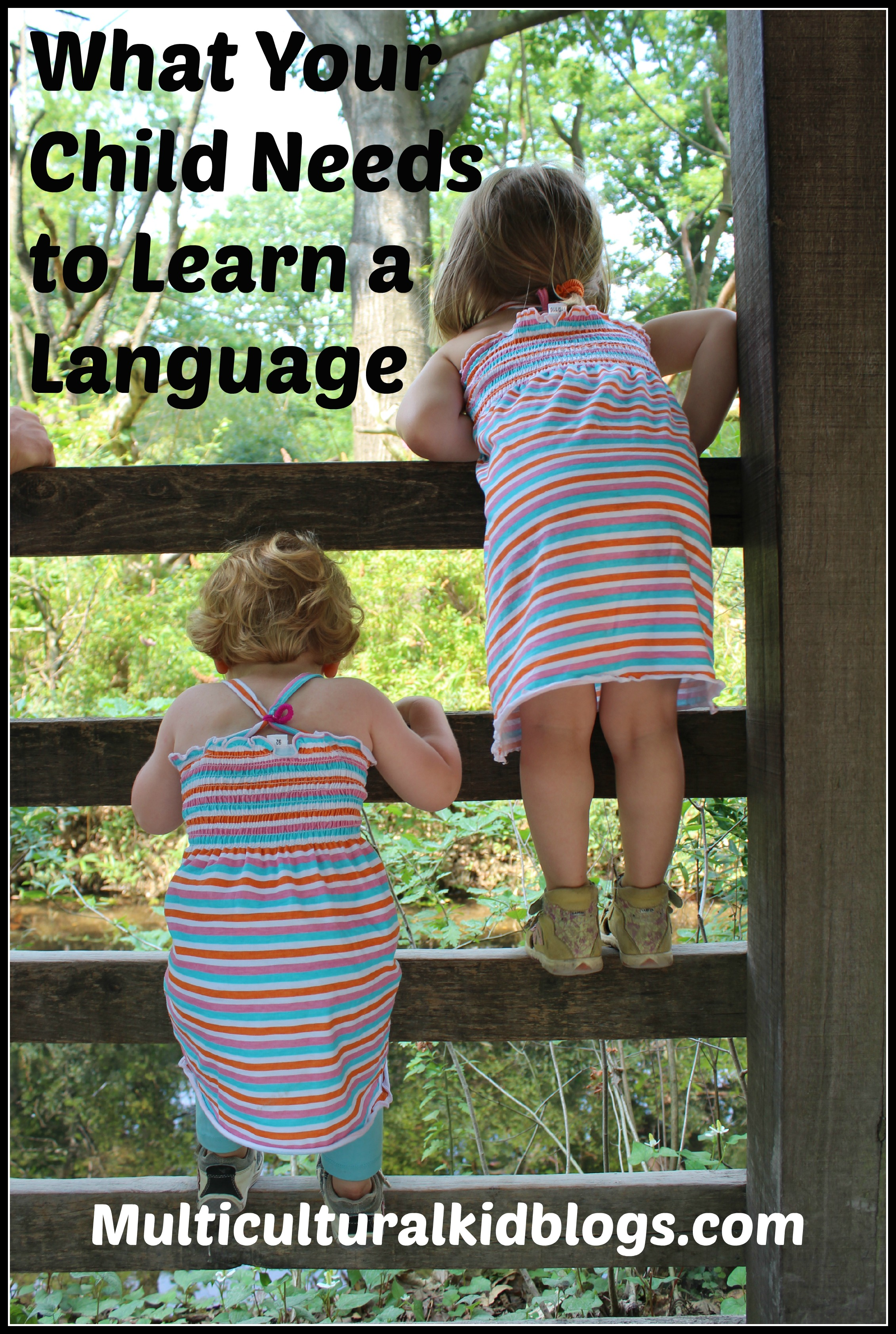 What Your Child Needs to Learn a Language | Multiculturalkidblogs.com