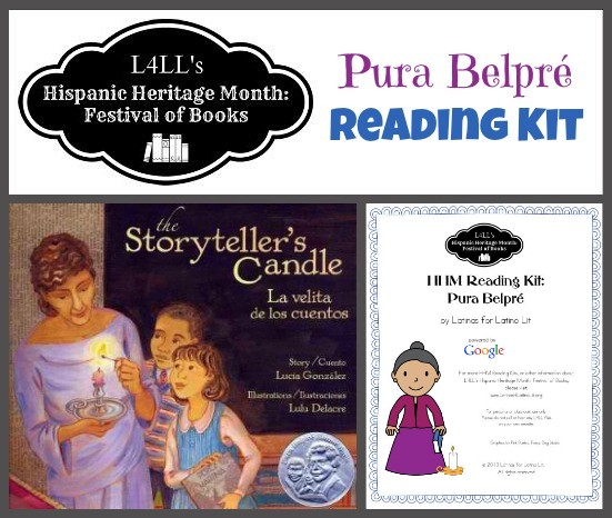 Belpre Reading Kit - Hispanic Heritage Month Blog Hop - Multiculturalkidblogs.com