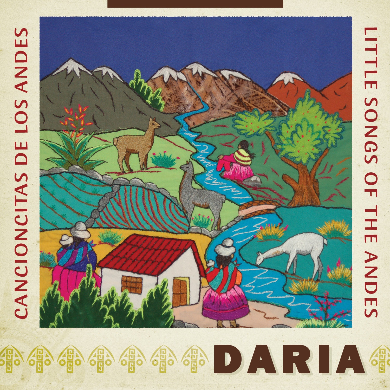 DARIA_Cancioncitas CD Cover - Hispanic Heritage Month Blog Hop