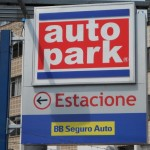 Linguistic Landscapes in Curitiba, Brazil - Car park