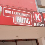 Linguistic Landscapes in Curitiba, Brazil - Bar and Cafe