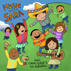Mas Canciones en Espanol - Music with Sara - MKB Birthday Party Giveaway