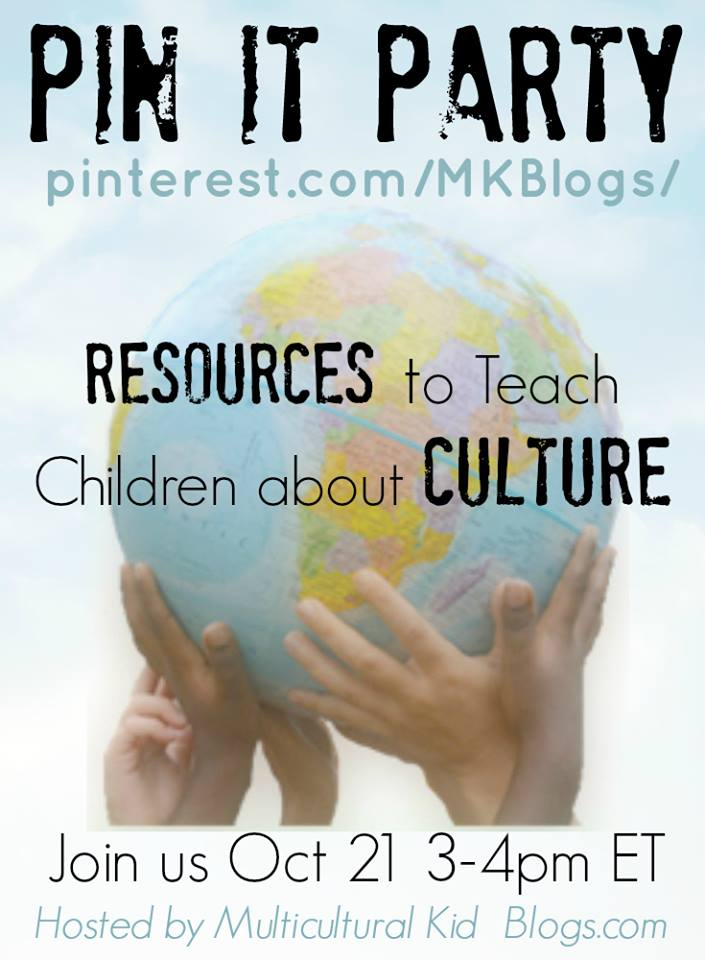 MKB Pin-It Party: Resources to Teach Children About Culture