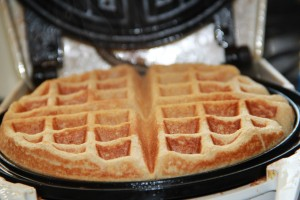 Spanglish House - Oatmeal Waffles on Multicultural Kid Blogs