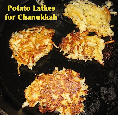 Potato Latkes - Kid World Citizen
