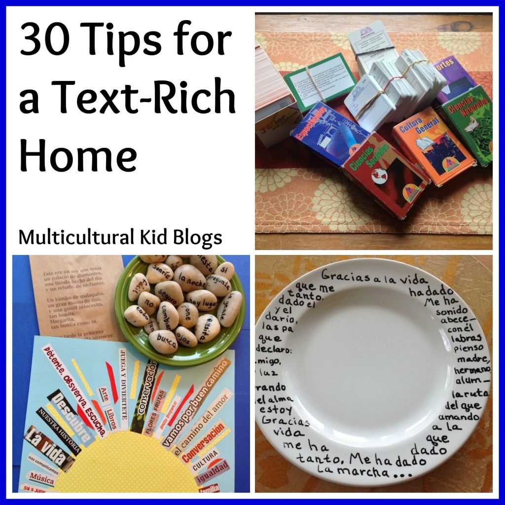 30 Tips for a Text-Rich Home