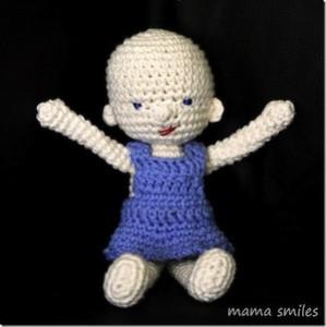 gift crochet doll