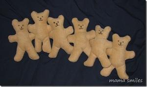 gift fleece teddy bears