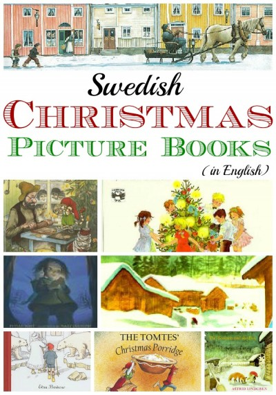 Swedish Christmas and Holiday Books - What Do We Do All Day?