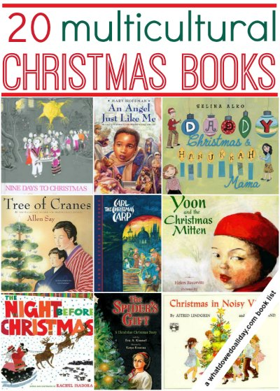 20 Multicultural Christmas Books - What Do We Do All Day?