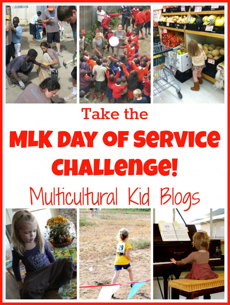 Take the MLK Day of Service Challenge - Multicultural Kid Blogs