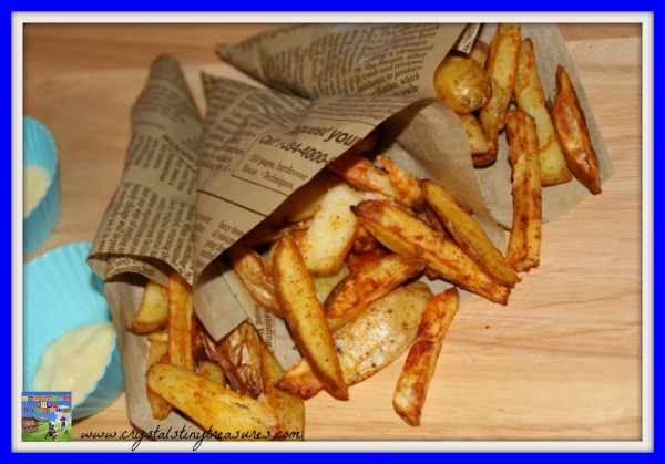 Andean spicy fries