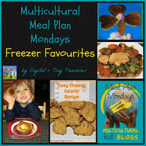 Freezer Favourites Multicultural Meal Plan Monday with Castle View Academy
