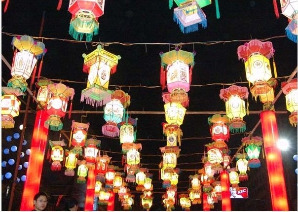 Chinese Lantern Festival Lights