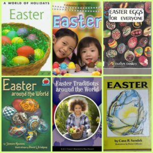 Easter Around the World Book Collage