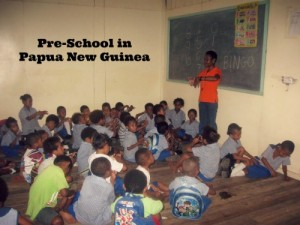 Papua New Guinea: A Day at Preschool