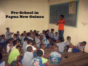 Papua New Guinea: A Day at Preschool