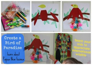 Birds of Paradise Craft - Toddling in the Fast Lane