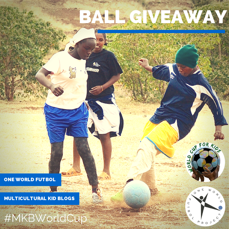 MKB One World Futbol World Cup Giveaway: Help Needy Kids Worldwide with the Power of Play