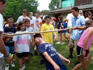 do the limbo at core creek