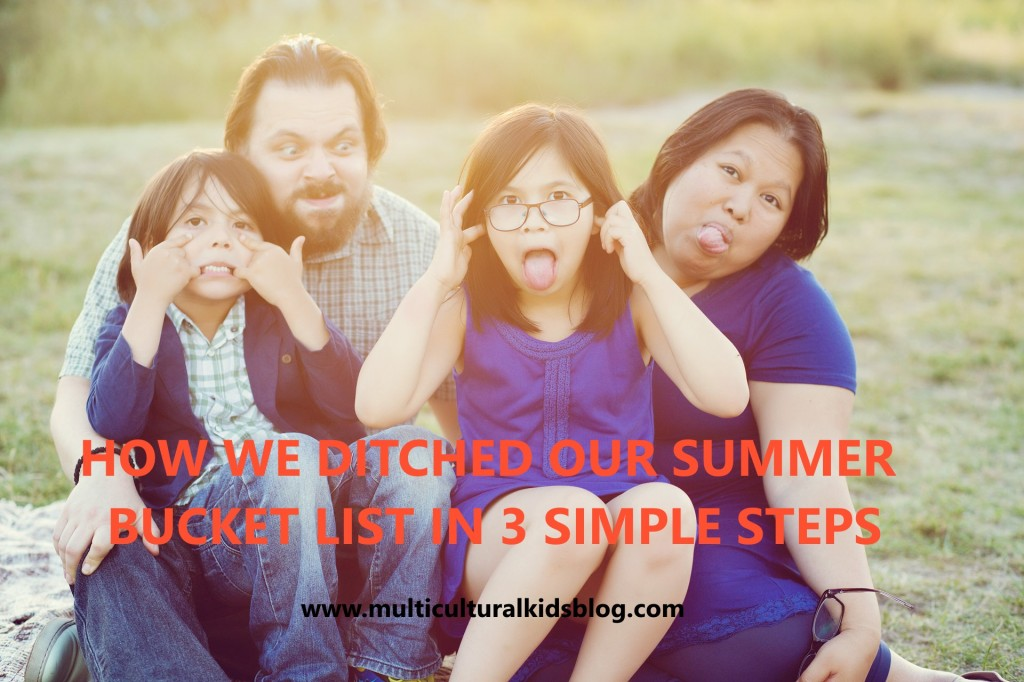 How We Ditched Our Summer Bucket List in 3 Simple Steps