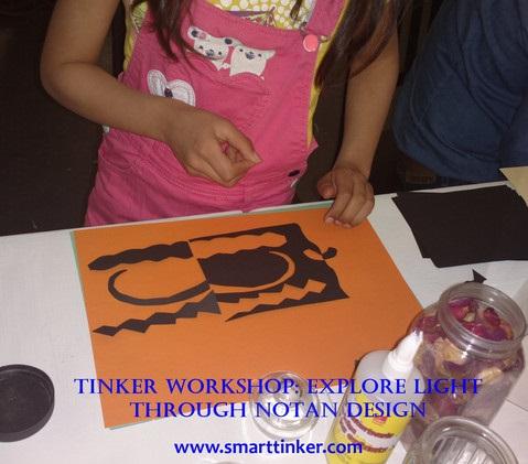tinker workshop notan design