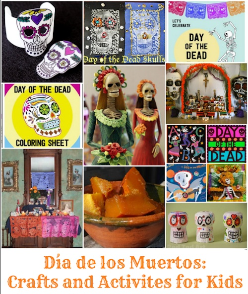 Day of the dead crafts and activities for Day of the dead arts and crafts
