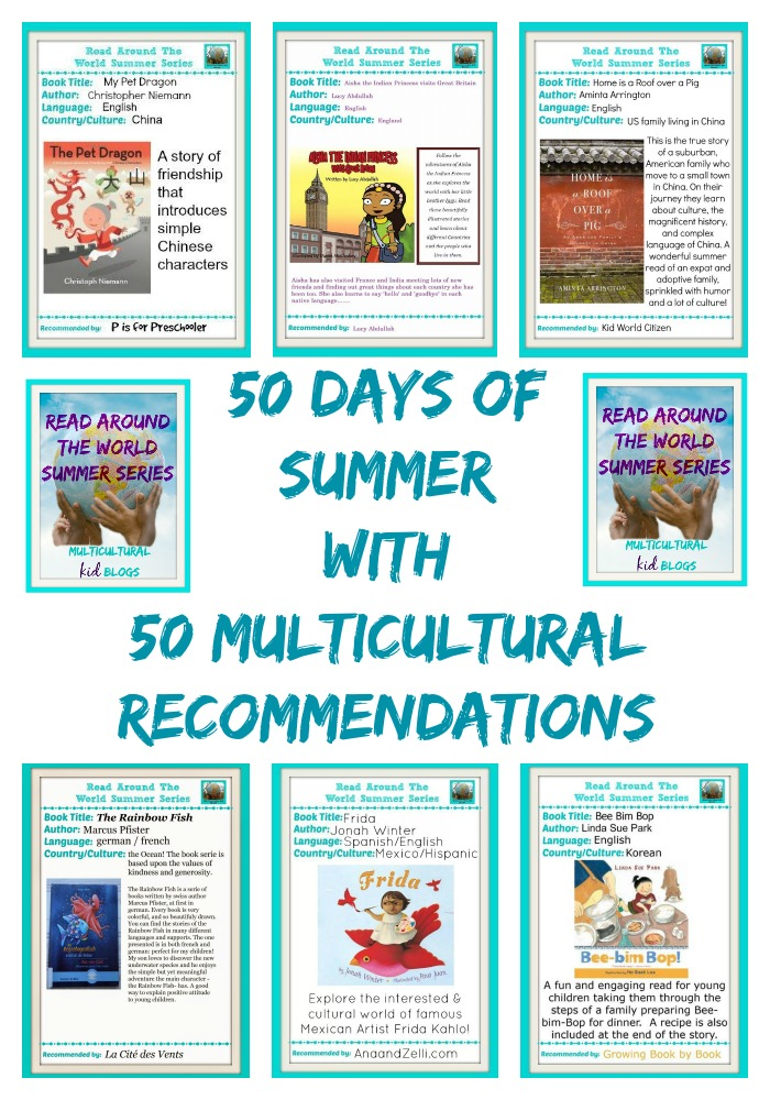 50 DAYS OF SUMMER MULTICULTURAL KIDS BLOG