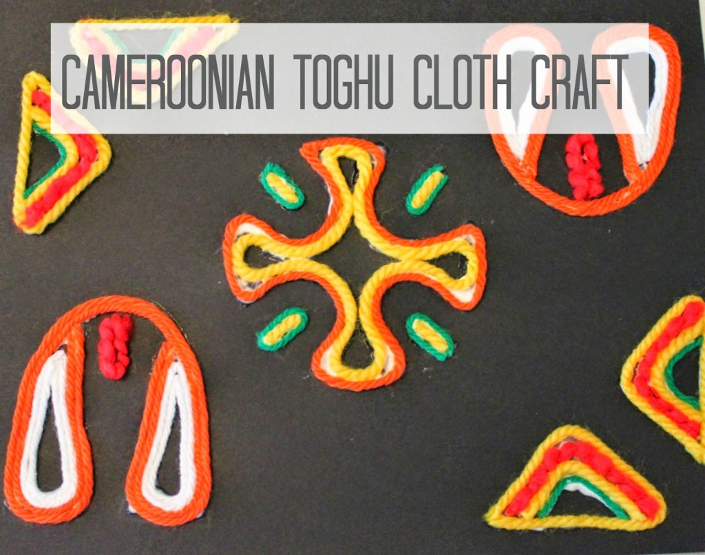 Cameroon Toghu Cloth Craft