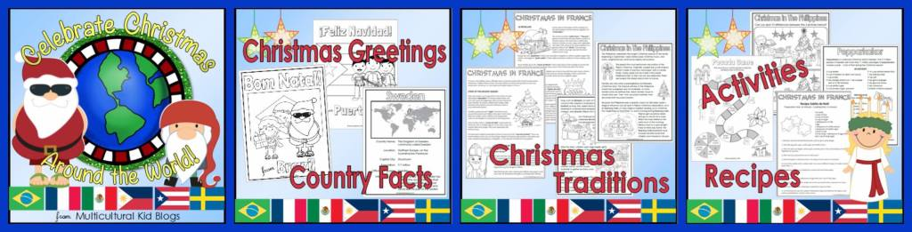 Celebrate Christmas Around the World! | Multicultural Kid Blogs Printable Pack