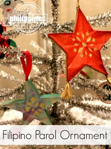 Filipino Parol ornament