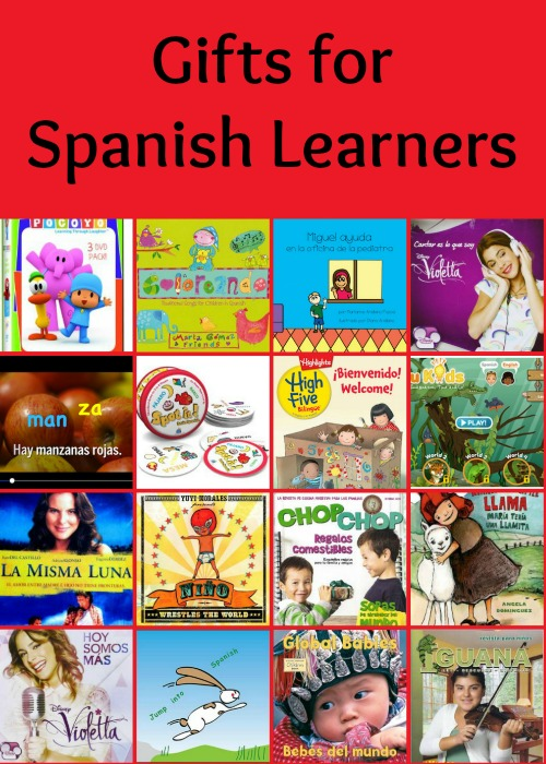 Spanish gifts for children.