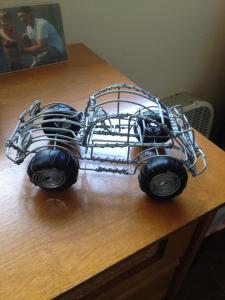 Kenya wire car