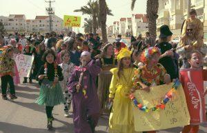 Purim Parade Shoham (CC)