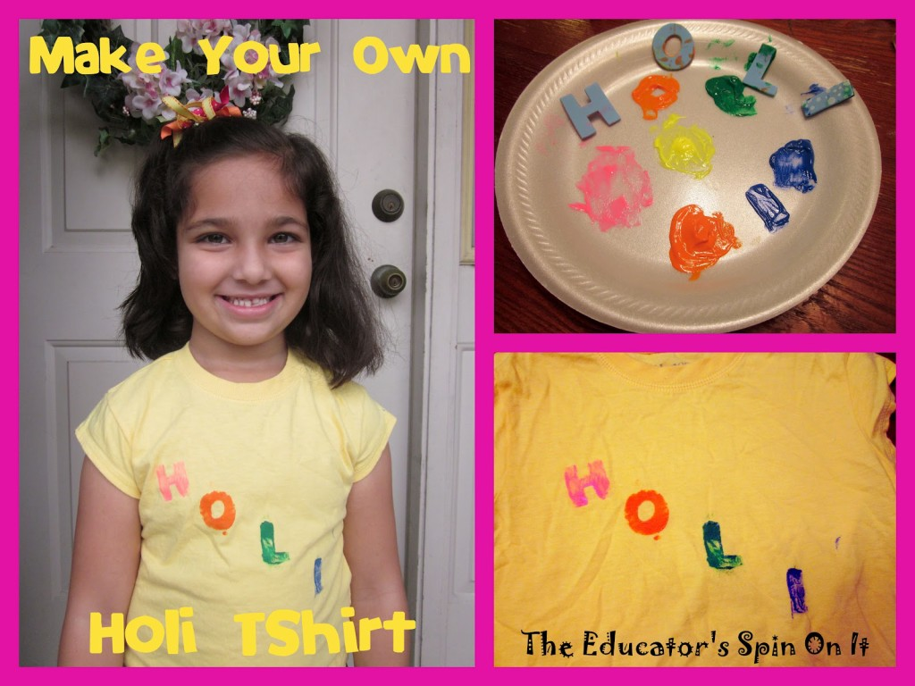 Make Your Own Colorful Holi : The Educators' Spin On ItT-Shirt