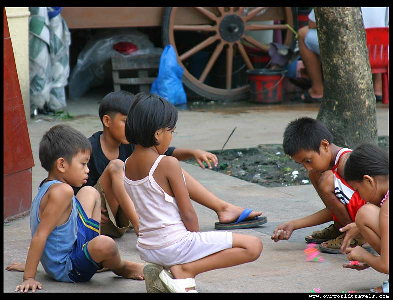 kids in Philippines