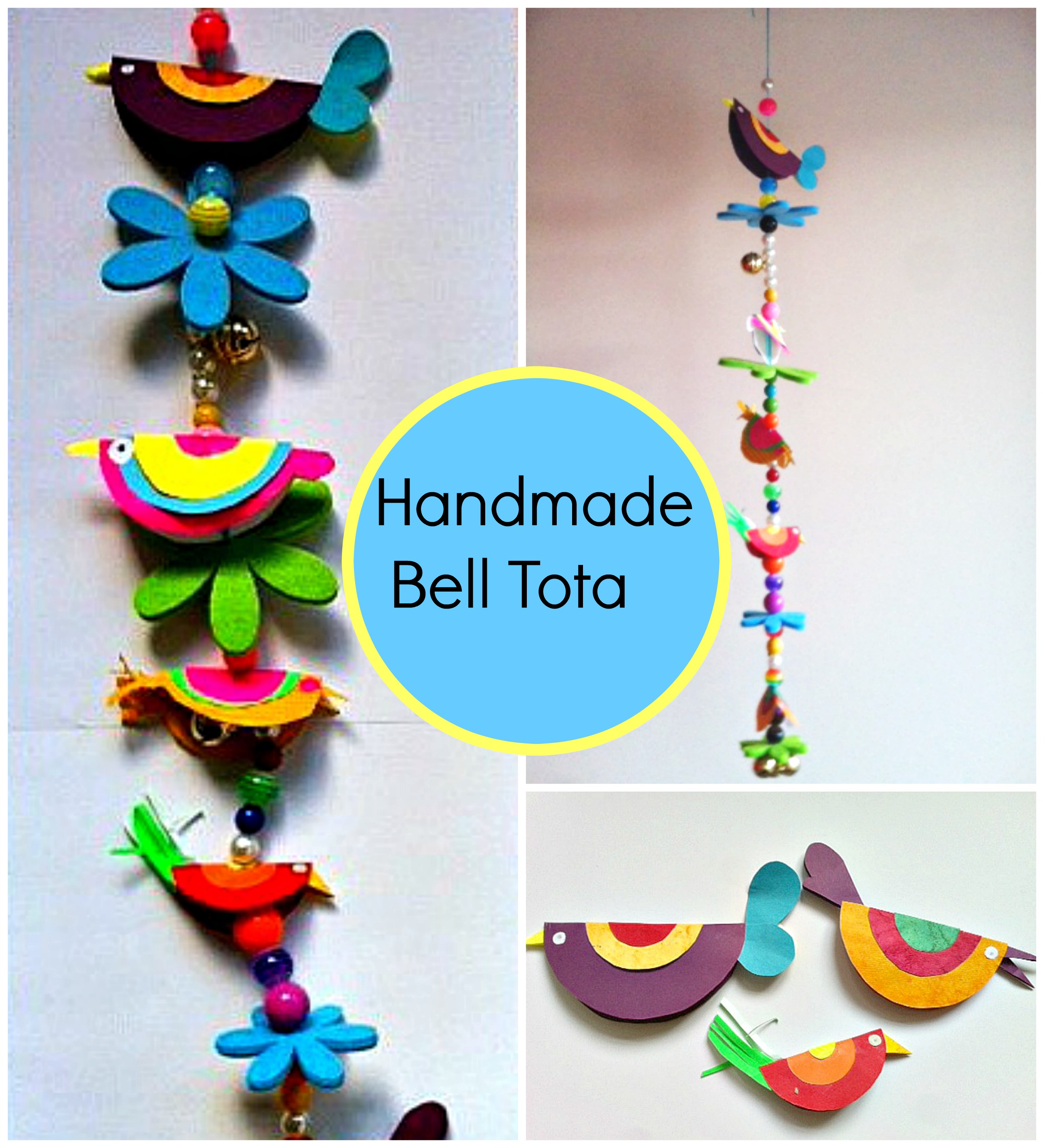 Kids Craft: Handmade Bell Tota