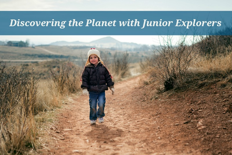Children discover the planet and its animals with Junior Explorers.