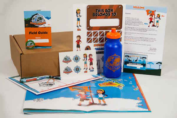 This kit from Junior Explorers helps kids explore the planet.