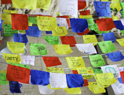 Making Tibetan Prayer Flags